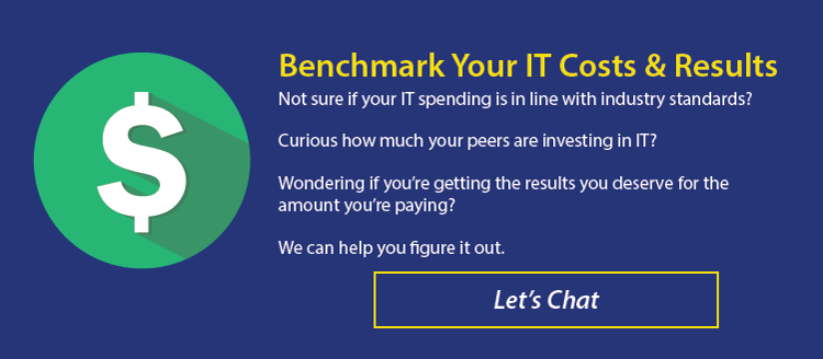 Benchmarking and Estimating IT Costs